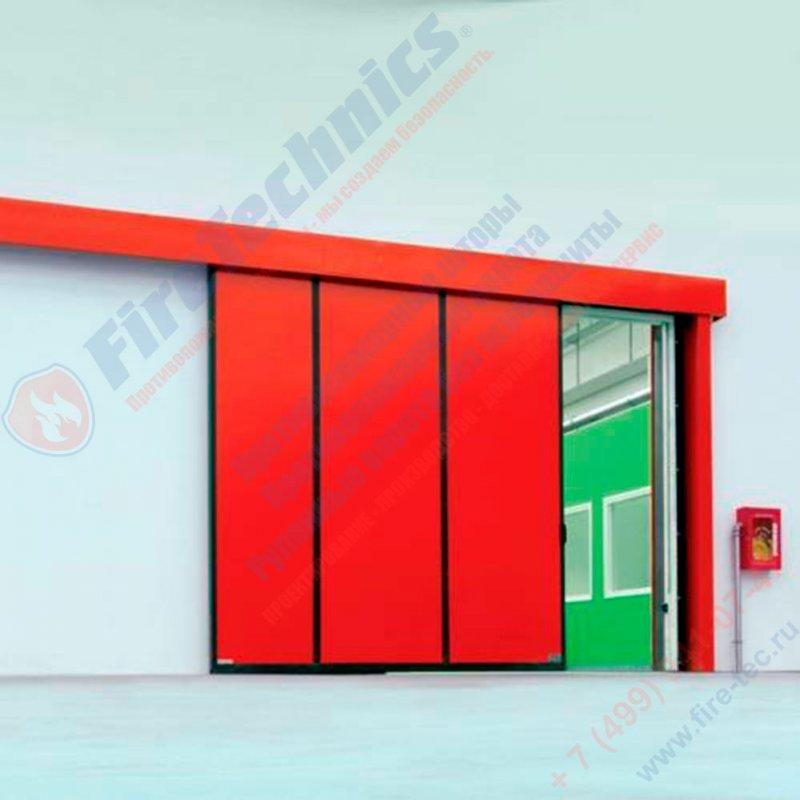 Сдвижные противопожарные ворота
